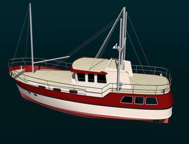 Passagemaker 40 44 Trawler Yacht Branson Boat Design