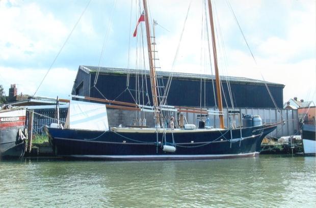 Open Sea' Schooner | Branson Boat Design Dutch Barges