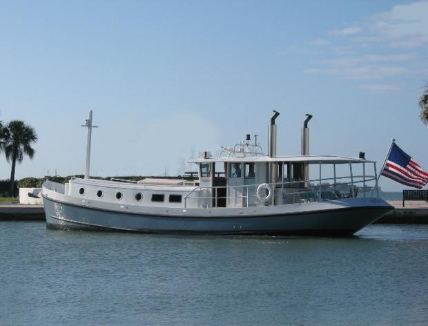 Thomas 505766ft Luxemotor Dutch Barge Branson Boat