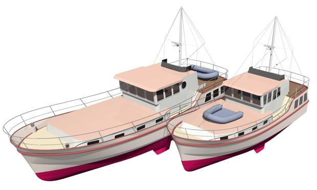 Trawler | Branson Boat Design Dutch Barges